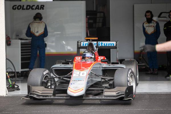2018 GP3 Series Test 1. Circuit Paul Ricard, Le Castellet, France. Thursday 22 February 2018. Diego Menchaca (MEX, Campos Racing) Photo: Andrew Ferraro/GP3 Series Media Service. ref: Digital Image _X0W8831