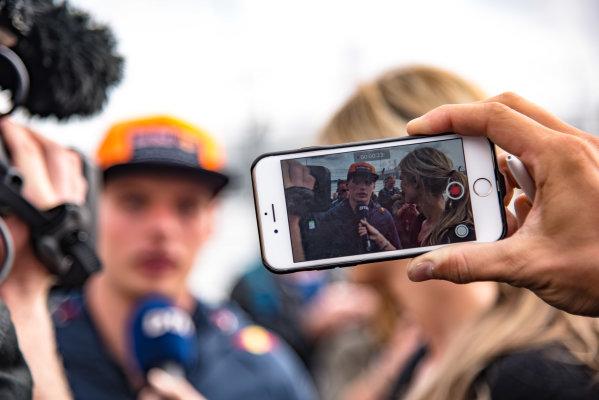 2017 DTM Round 6  Circuit Zandvoort, Zandvoort, Netherlands Sunday 20 August 2017. Max Verstappen, F1, Red Bull Racing World Copyright: Mario Bartkowiak/LAT Images ref: Digital Image 2017-08-20_DTM_Zandvoort_R2_0127
