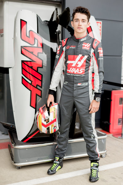 Silverstone, Northamptonshire, UK Thursday 7 July 2016 Charles Leclerc, Haas F1 Team. World Copyright: Andrew Hone/LAT Images  ref: Digital Image _ONZ7997