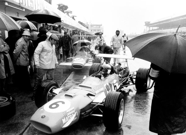 1968 German Grand Prix Jackie Stewart (Matra MS10-Ford), 1st position. World Copyright - LAT Photographic
