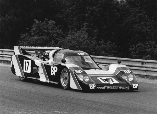 1981 Le Mans 24 hours. Le Mans, France. 13th - 14th June 1981. Bobby Rahal / Brian Redman (Lola T600 Porsche), DNQ, action.  World Copyright: LAT Photographic. Ref: B/W Print.