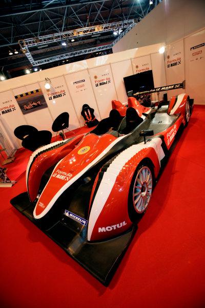 NEC, Birmingham. 8th January 2009.The New ORECA Formula Le Mans LMP2 sportscar is unveiled.World Copyright: Drew Gibson/LAT Photographicref: Digital Image _Y2Z0594