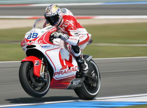 Assen, Netherlands.26th - 28th June 2009.Niccolo Canepa Pramac Racing Ducati.World Copyright: Martin Heath/LAT Photographicref: Digital Image BPI_Moto 8sc3