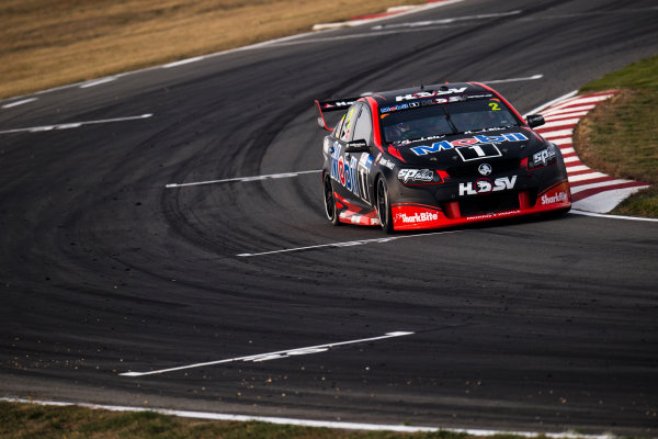 2017 Supercars Championship Round 2.  Tasmania SuperSprint, Simmons Plains Raceway, Tasmania, Australia. Friday April 7th to Sunday April 9th 2017. Scott Pye drives the #2 Mobil 1 HSV Racing Holden Commodore VF. World Copyright: Daniel Kalisz/LAT Images Ref: Digital Image 070417_VASCR2_DKIMG_1514.JPG