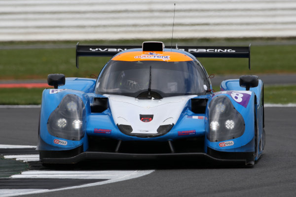 2017 European LeMans Series, Silverstone, 13th-15th April 2017, Alexandre Cougnaud (FRA) / Antoine Jung (FRA) / Romano Ricci (FRA) - M.RACING YMR - Ligier JS P3 ? Nissan World Copyright. JEP/LAT Images