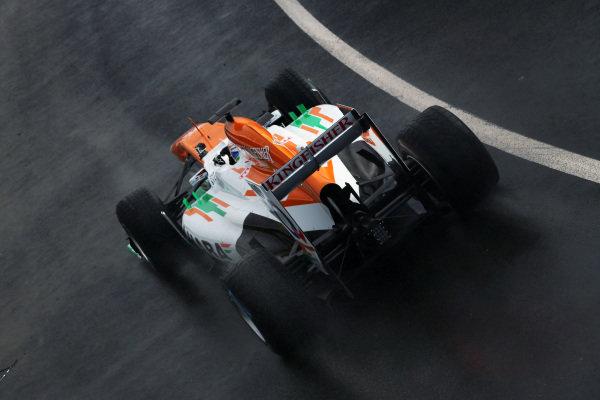 Paul di Resta (GBR) Force India VJM06. Force India VJM06 First Run, Silverstone, England, 1 February 2013.