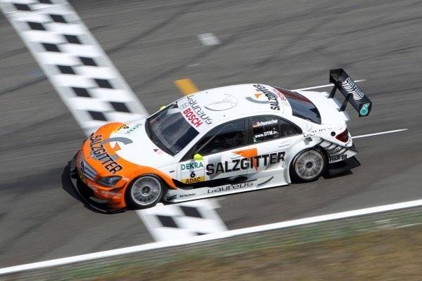 Ralf Schumacher (GER), Salzgitter AMG Mercedes.DTM, Rd1, Hockenheim, Germany, 29 April - 1 May 2011.