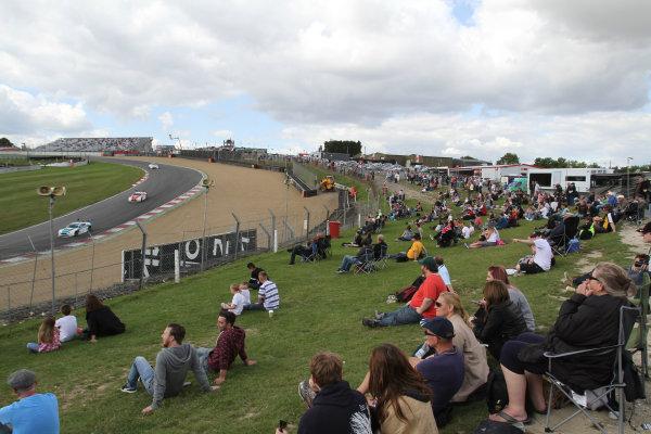 2014 Avon Tyres British GT Championship, Brands Hatch, Kent. 30th - 31st August 2014. British GT Fans. World Copyright: Ebrey / LAT Photographic.