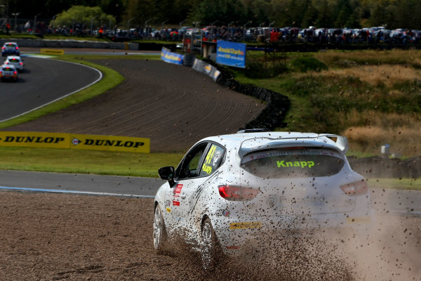 2014 Renault Clio Cup, Knockhill, Scotland. 22nd - 24th August 2014. Paul Knapp (GBR) JamSport Renault Clio Cup. World Copyright: Ebrey / LAT Photographic.