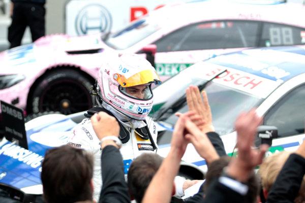 2017 DTM Round 4 Norisring, Nuremburg, Germany Sunday 2 July 2017. Edoardo Mortara, Mercedes-AMG Team HWA, Mercedes-AMG C63 DTM World Copyright: Alexander Trienitz/LAT Images ref: Digital Image 2017-DTM-R3-NOR-AT1-3703