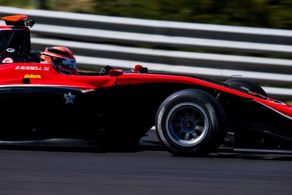 2017 GP3 Series Test 4.  Hungaroring, Budapest, Hungary. Wednesday 7 June 2017. George Russell (GBR, ART Grand Prix)  Photo: Zak Mauger/GP3 Series Media Service. ref: Digital Image _56I2386