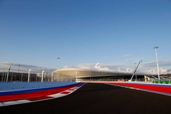 Sochi Autodrom, Sochi, Russia. Thursday 9 October 2014. A view of the new circuit. World Copyright: Glenn Dunbar/LAT Photographic. ref: Digital Image _89P0040