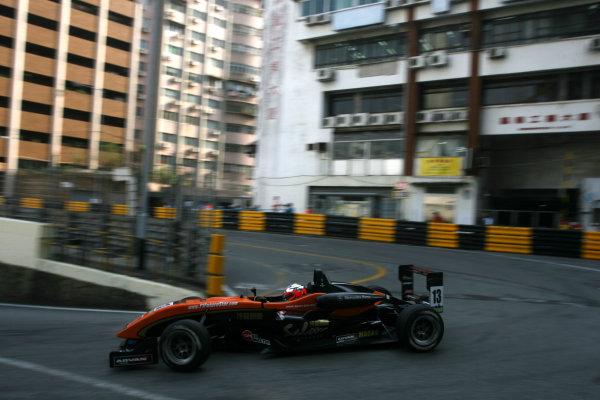 Circuit de Guia, Macau. 18th - 21st November 2010.Michael Ho (MAC) Raikkonen Robertson Racing Dallara Mercedes.World Copyright: Ebrey/LAT Photographic.