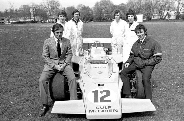 1970s Indycar Racing.