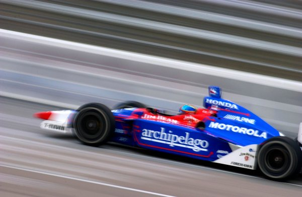 IRL IndyCar Series Bombardier 500 at Texas Motor Speedway, Ft Worth, Texas, USA 7 June,2003Bryan Herta at speed.World Copyright-F Peirce Williams 2003 LAT Photographicref: Digital Image Only