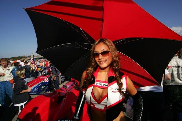 2004 American Le Mans Series (ALMS)Laguna Seca, California, USA. 15 - 16 October.Miss Yokohama on the Laguna grid.World Copyright: Richard Dole/LAT Photographicref: Digital Image Only