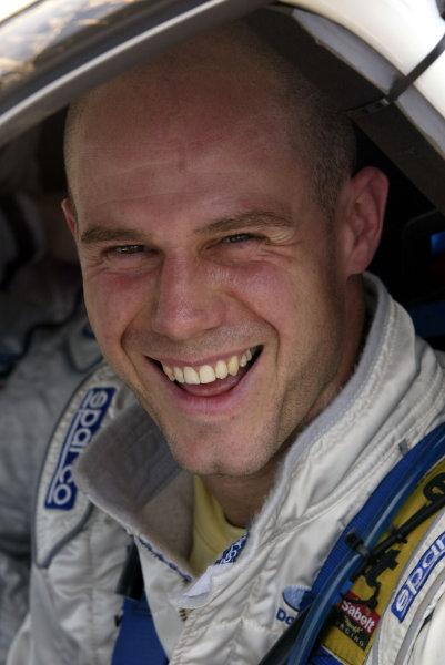 2003 FIA World Rally Champs. Round Ten Telstra Rally Australia 4th-7th September 2003.Martin Rowe, Subaru Group N, Portrait. World Copyright: McKlein/LAT