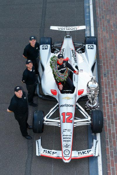 Winner, Will Power, Team Penske Chevrolet, and Team, Chevy