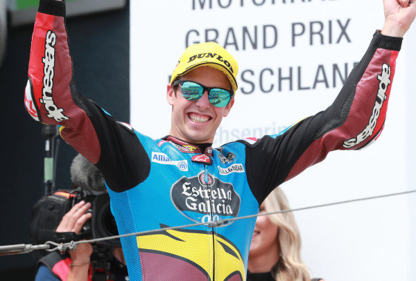 Podium: race winner Alex Marquez, Marc VDS Racing.