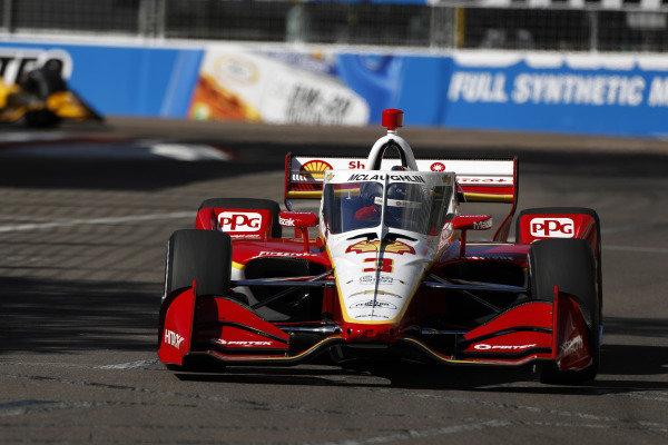 #3 Scott McLaughlin, Team Penske Chevrolet