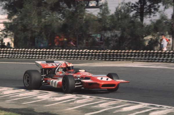 1970 Mexican Grand Prix.Mexico City, Mexico.23-25 October 1970.Jo Siffert (March 701 Ford).Ref-70 MEX 05.World Copyright - LAT Photographic