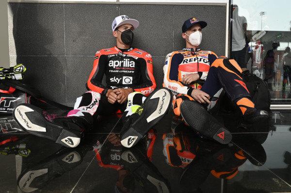 Aleix Espargaro, Aprilia Racing Team Gresini, Pol Espargaro, Repsol Honda Team.