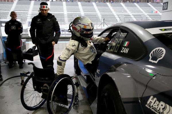 Alex Zanardi, BMW Team RBM BMW M4 DTM.