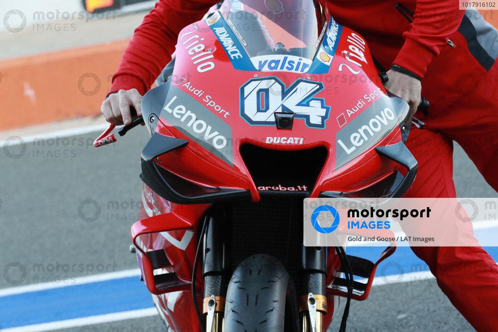 Bike of Andrea Dovizioso, Ducati Team.