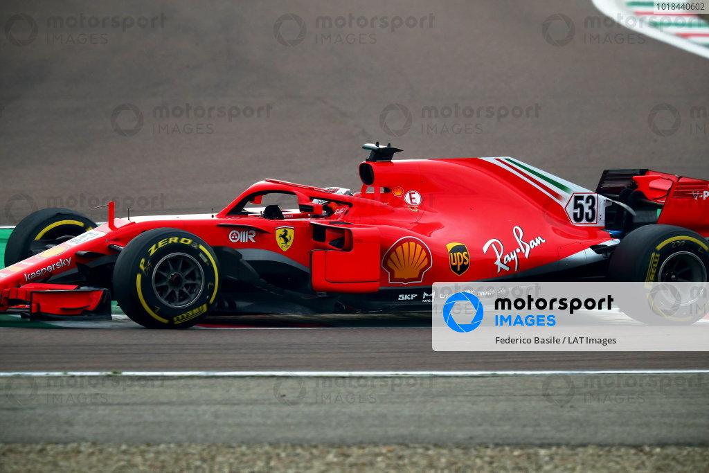 Ferrari Fiorano testing