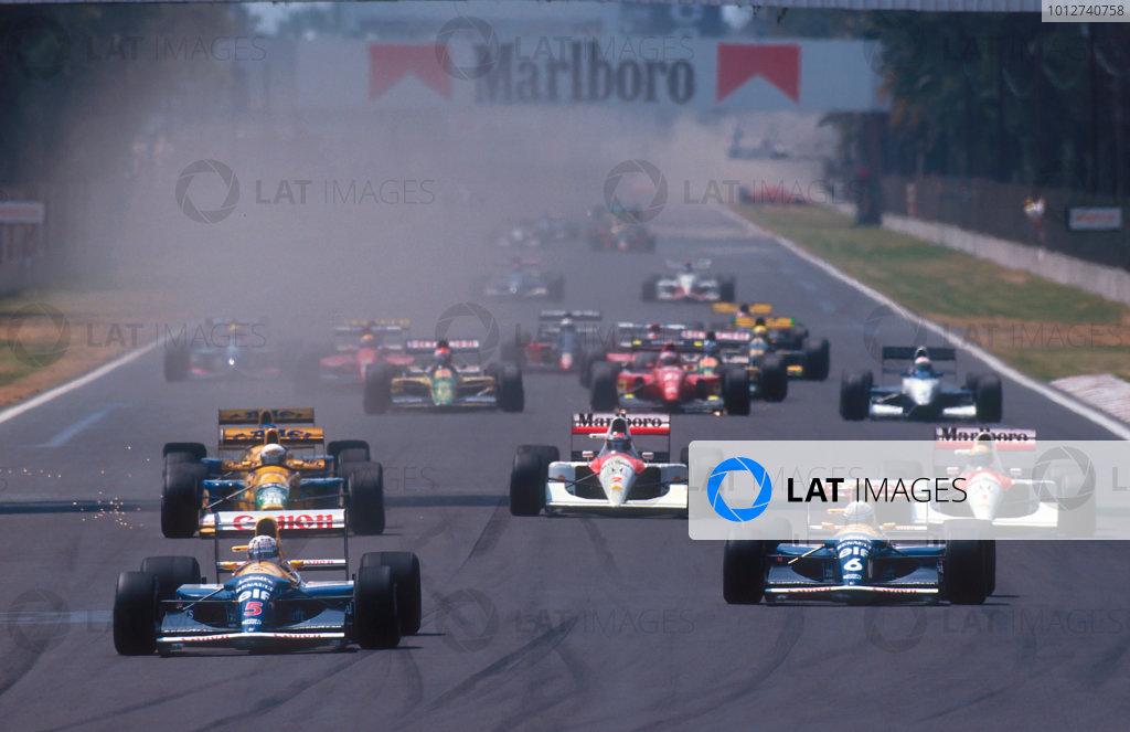 1992 Mexican Grand Prix.