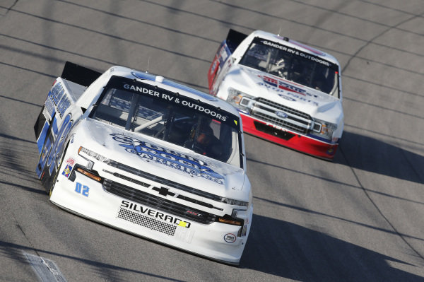 #02: Tate Fogleman, Young's Motorsports, Solid Rock Carriers Chevrolet Silverado
