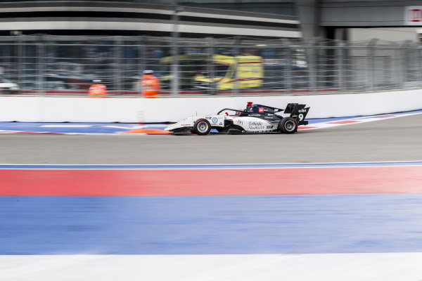 SOCHI AUTODROM, RUSSIAN FEDERATION - SEPTEMBER 28: Raoul Hyman (GBR, Sauber Junior Team by Charouz) during the Sochi at Sochi Autodrom on September 28, 2019 in Sochi Autodrom, Russian Federation. (Photo by Carl Bingham / LAT Images / FIA F3 Championship)