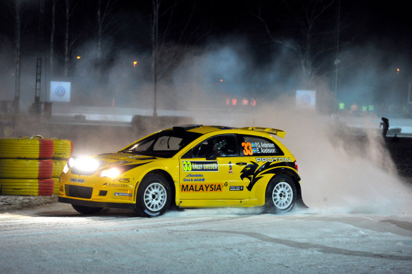 Round 02 - Rally Sweden 09-12 February 2012. PG Andersson, Proton S2000, Action  Worldwide Copyright: McKlein/LAT