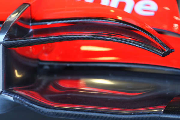 McLaren MP4/25 front wing detail.  Formula One World Championship, Rd 10, British Grand Prix, Practice Day, Silverstone, England, Friday 9 July 2010.