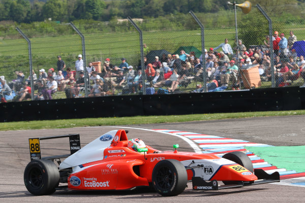 2016 British F4 Championship, Thruxton, 7th-8th My 2016, Jack Martin (GBR) TRS Arden MSA Formula  World copyright. Jakob Ebrey/LAT Photographic