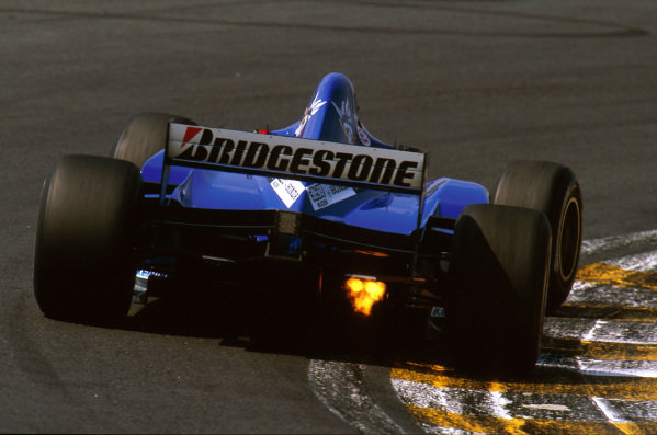 Interlagos, Brazil.28-30 March 1997.Shinji Nakano (Prost JS45 Mugen-Honda) 14th position.Ref-97 BRA 09.World Copyright - LAT Photographic
