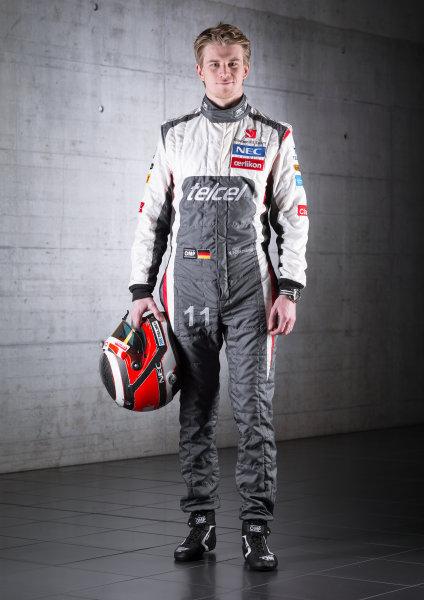 Hinwil, Switzerland   Nico Hulkenberg, Sauber F1. Photo: Sauber F1 () ref: Digital Image NH_FullBody_01