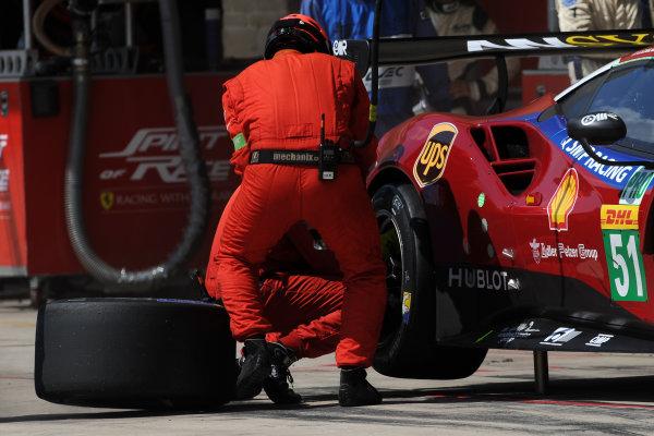 2017 FIA World Endurance Championship, COTA, Austin, Texas, USA. 14th-16th September 2017, #51 AF Corse Ferrari 488 GTE: James Calado, Alessandro Pier Guidi,   World Copyright. May/JEP/LAT Images