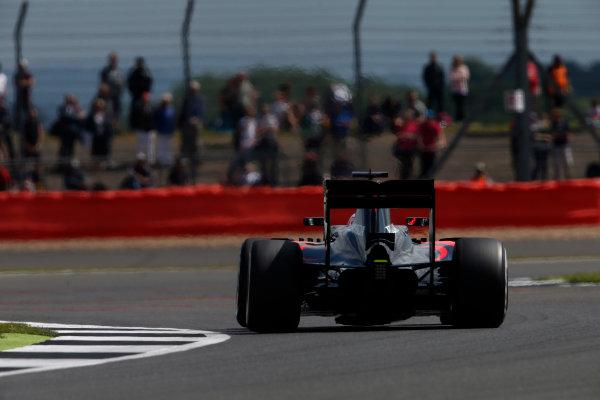 Silverstone, Northamptonshire, UK Friday 08 July 2016. Fernando Alonso, McLaren MP4-31 Honda. World Copyright: Glenn Dunbar/LAT Photographic ref: Digital Image _W2Q3732