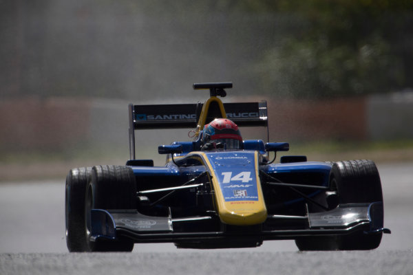 2017 GP3 Series Testing Estoril, Portugal. Thursday 23 March 2017 Santino Ferrucci (USA, DAMS). Action.  Photo: Alastair Staley/GP3 Series Media Service ref: Digital Image 580A3930