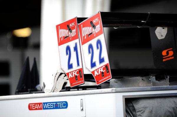 2014 FIA European F3 Championship Round 6 - Norisring, Germany. 27th - 29th June 2014 Felix Serralles (USA) TEAM WEST-TECF3 Dallara F312 Mercedes, Hector Hurst (GBR) TEAM WEST-TECF3 Dallara F312 Mercedes World Copyright: XPB Images / LAT Photographic  ref: Digital Image 3191202_HiRes