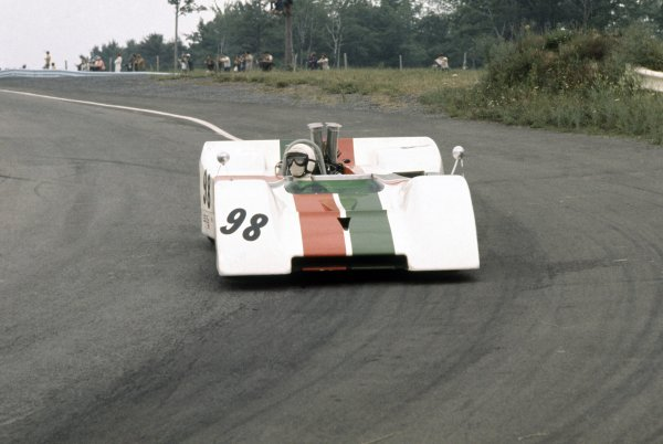 1970 Can-Am Challenge Cup.CanAm race. Watkins Glen, New York State, United States (USA). 12 July 1970.George Eaton (BRM P154-Chevrolet), retired.World Copyright: LAT PhotographicRef: 35mm transparency 70CANAM19