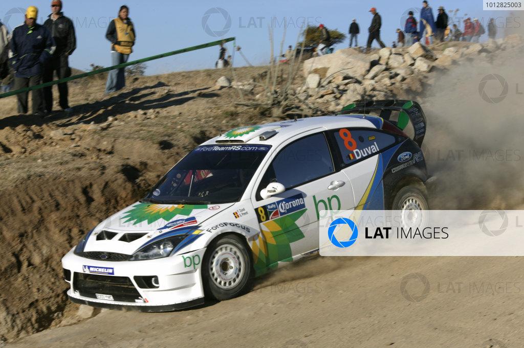 2004 FIA World Rally Champs. Round three, Corona Rally Mexico.