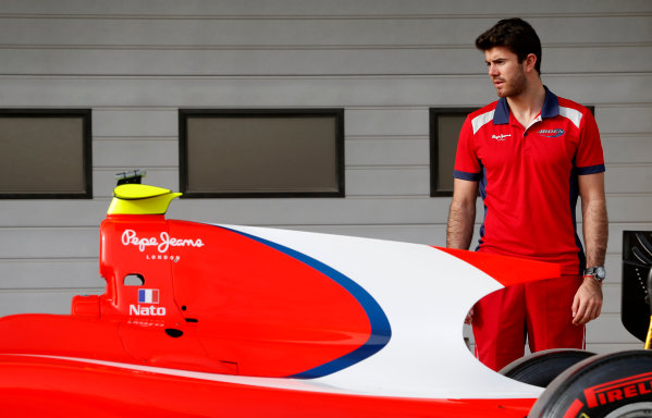 2015 GP2 Test 1 Yas Marina Circuit, Abu Dhabi, United Arab Emirates Wednesday 10 March 2015 Norman Nato (FRA, Arden Int) Photo: Jed Leicester/GP2 Series Media Service ref: Digital Image _JL14615