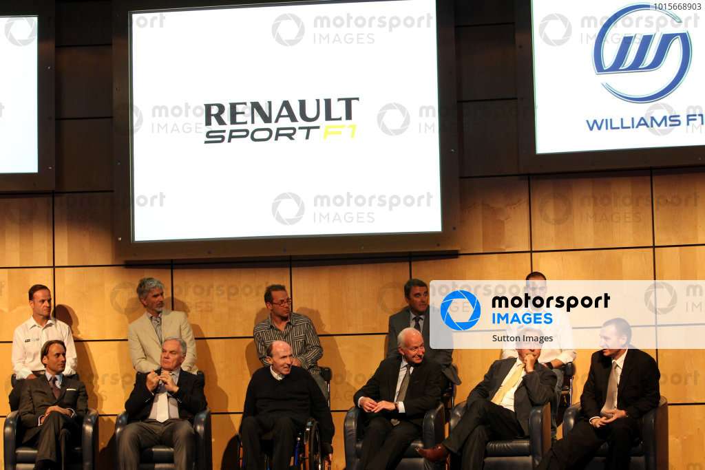 The Renault Engine deal for 2013 and 2014 is announced.