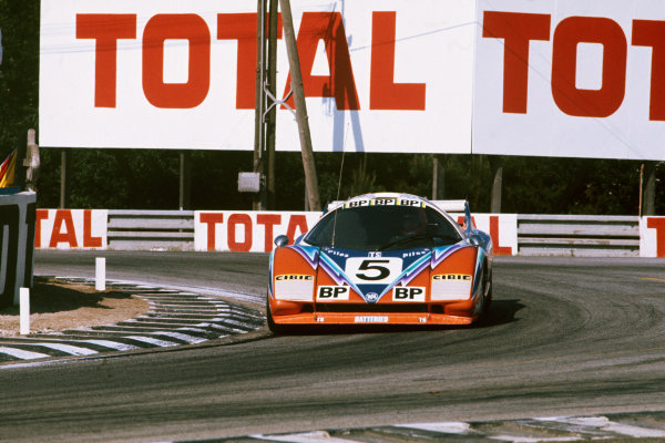 Le Mans, France. 12 - 13 June 1976 Guy Chasseuil/Claude Ballot-Lena/Xavier Mathiot (WM P76 Peugeot), retired, action. World Copyright: LAT PhotographicRef: 76LM42.