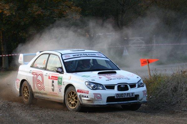 2007 British Rally Championship,Rally Yorkshire, 6th October 2007,David Higgins/Iestyn Thomas Subaru Impreza,World Copyright: Ebrey/LAT Photographic.