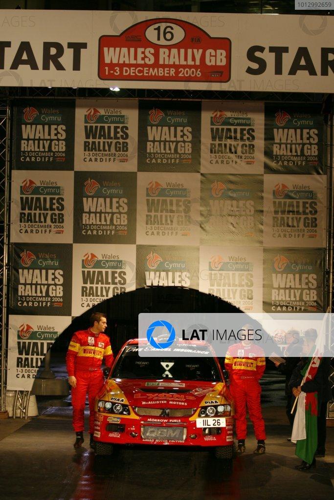2006 British Rally Championship.Wales Rally GB. 1st-3rd December 2006.Phillip Morrow. World Copyright: Ebrey/LAT Photographic.