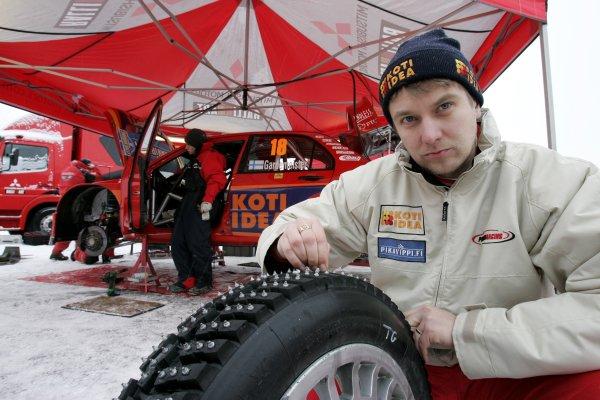 2007 FIA World Rally Championship,Round 2 Swedish Rally 8th-11th February 2007,Toni Gardemeister, Mitsubishi, portrait.Worldwide Copyright McKlein/LAT.