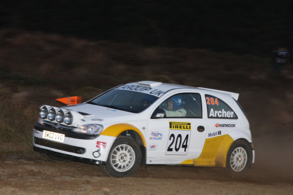 Pirelli International Rally, 17th-18th April 2009,Dick Archer/Opel CorsaWorld copyright: Jakob Ebrey/LAT Photographic